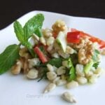 Wheat Salad | giverecipe.com