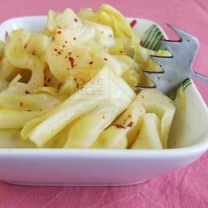 Easy Pickled Cabbage | giverecipe.com