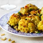 Cauliflower Sauteed With Turmeric and Rosemary