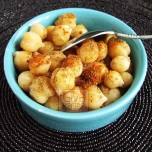 Chickpeas As Street Food