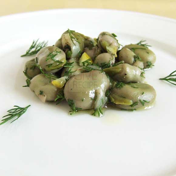 Shelled Fresh Fava Beans