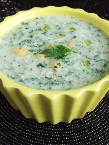 Stinging Nettle Soup | giverecipe.com