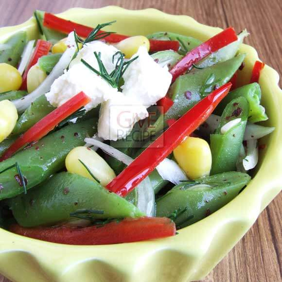 Green Bean Salad | giverecipe.com