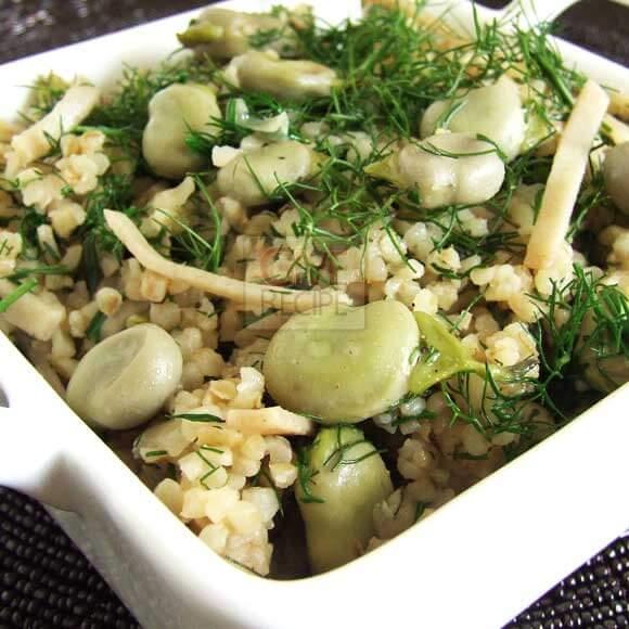 Herbed Bulgur Pilaf