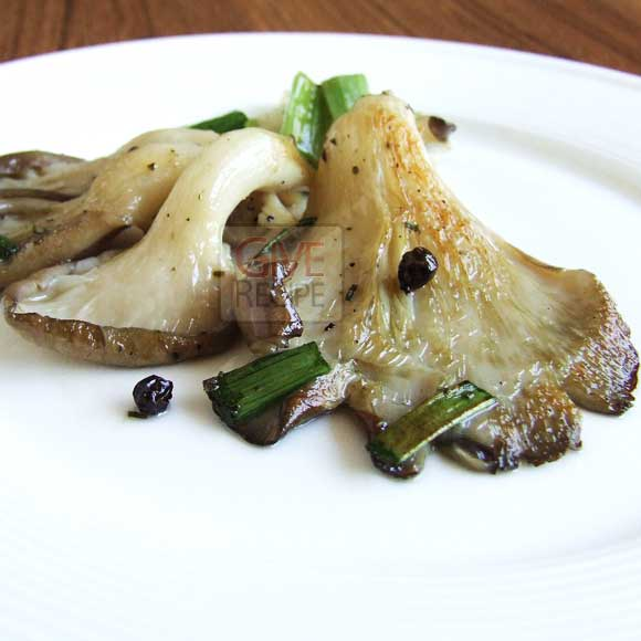 Fried Oyster Mushroom - Give Recipe