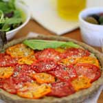 sun dried tomato basil and olive tart