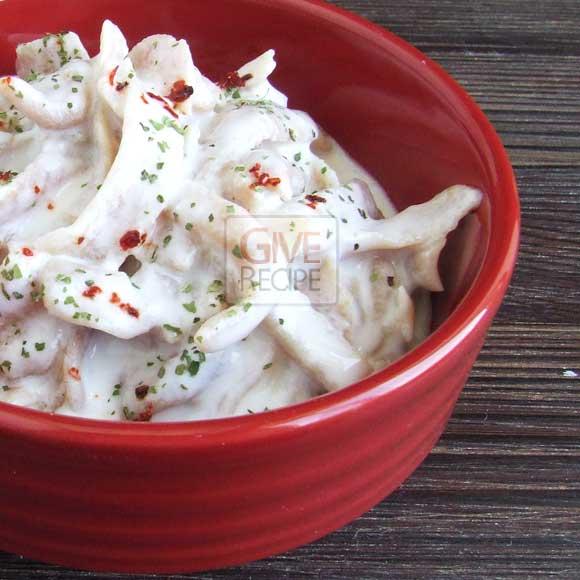 Homemade Pasta With Yogurt