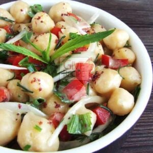 Chickpea Salad | giverecipe.com