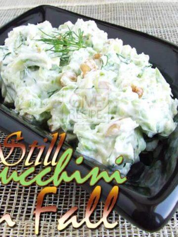 Zucchini Mezze | giverecipe.com