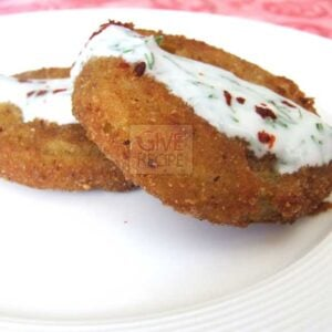 Fried Green Tomatoes | giverecipe.com
