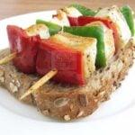 Halloumi Kebab
