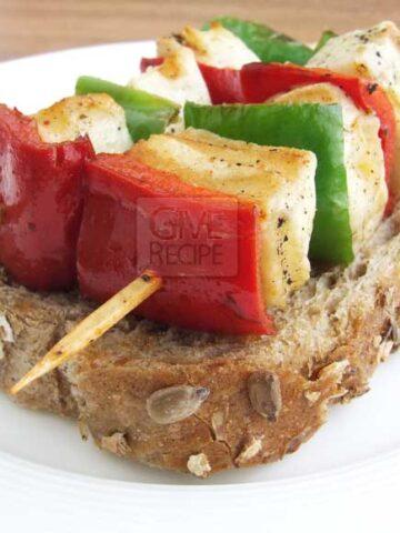 Halloumi Kebab | giverecipe.com