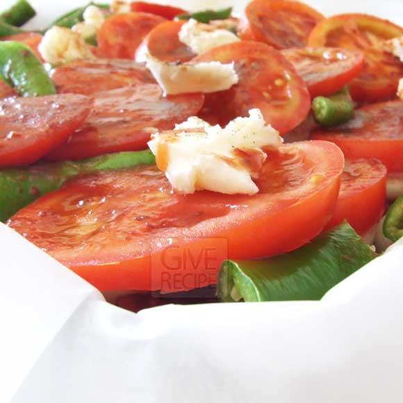 Kebab In Baking Paper   giverecipe.com