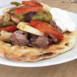 Kebab In Baking Paper