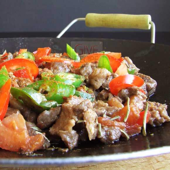 Beef In Iron Plate   giverecipe.com