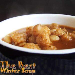 Soup Of Bulgur Balls