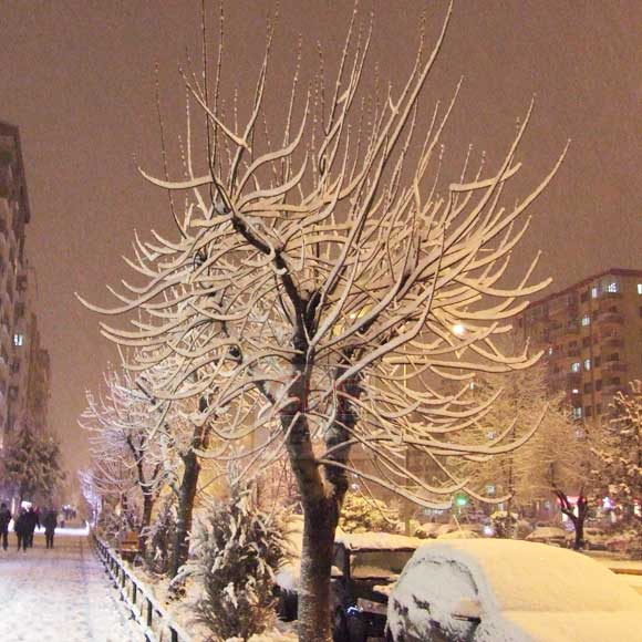 Snow in Eskisehir2