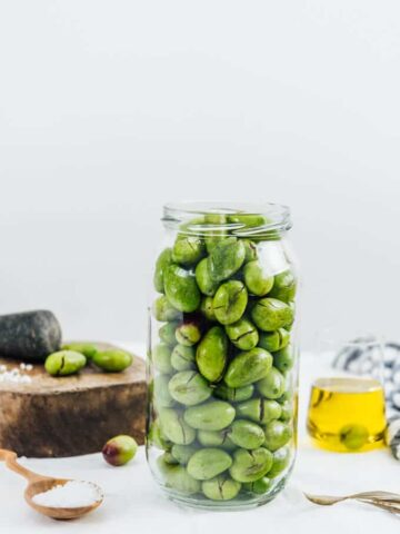 How to brine olives is not as hard as you think.