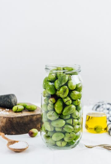 How To Brine Olives