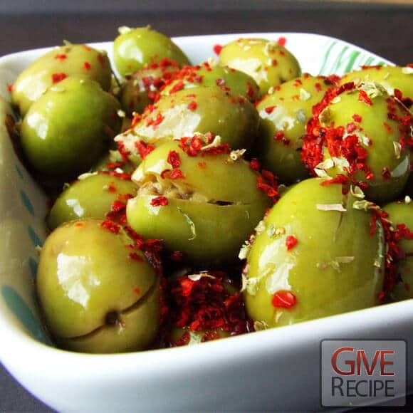 Green Olives For Breakfast | giverecipe.com