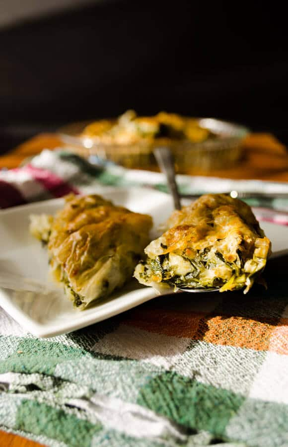 borek with organic spinach2