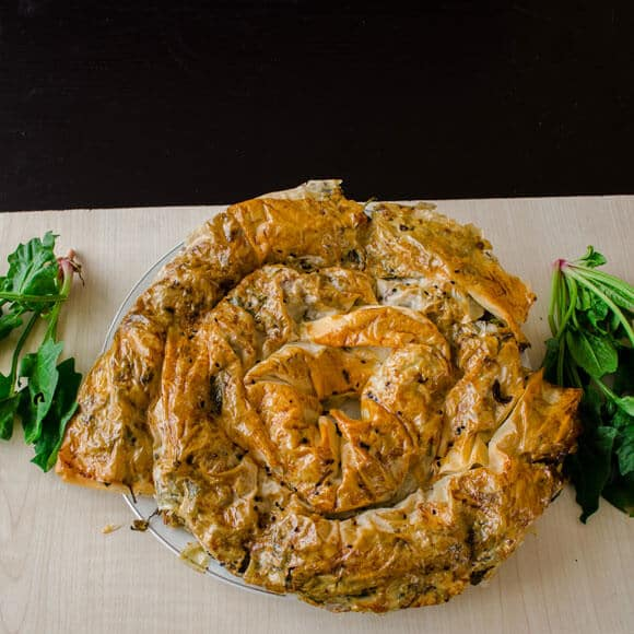 borek with organic spinach3