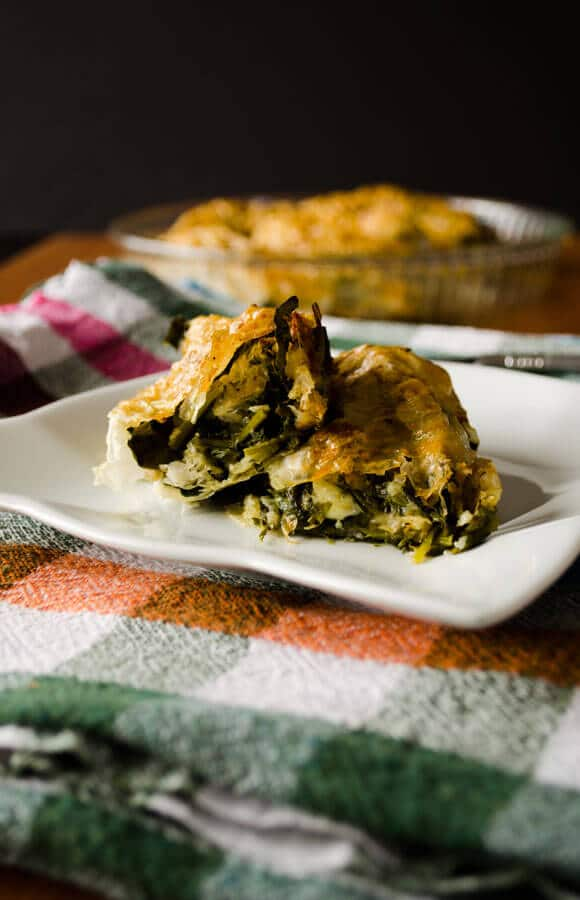 borek with organic spinach | giverecipe.com