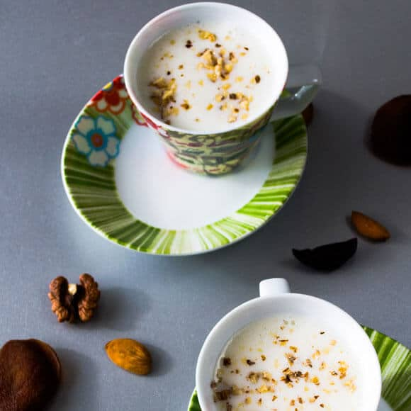 Salep With Nuts | giverecipe.com