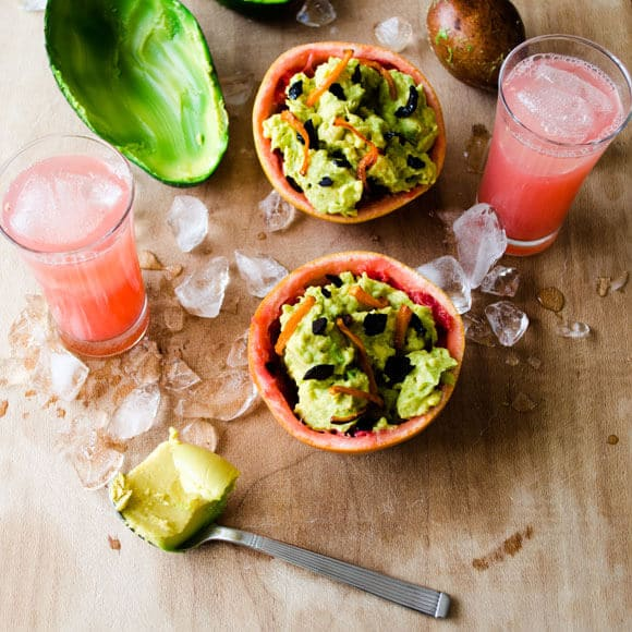 Winter Guacamole| giverecipe.com