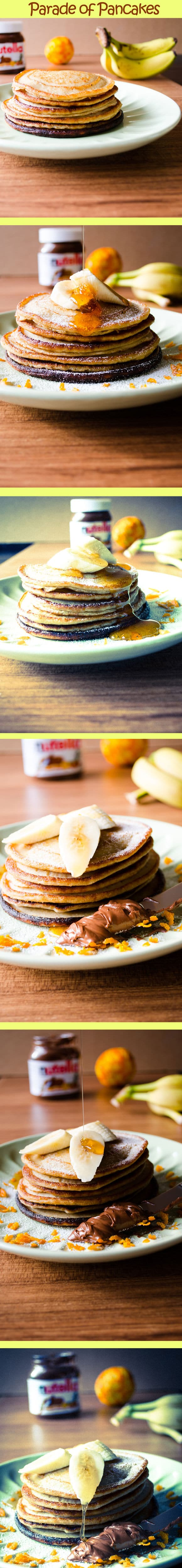 parade of banana pancakes