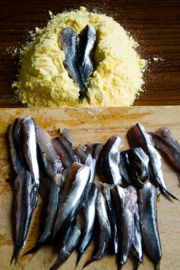 how to fry anchovies 7