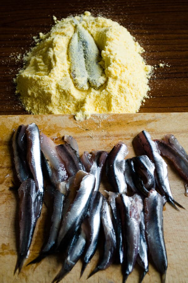 how to fry anchovies 8