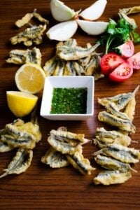 How To Fry Anchovies