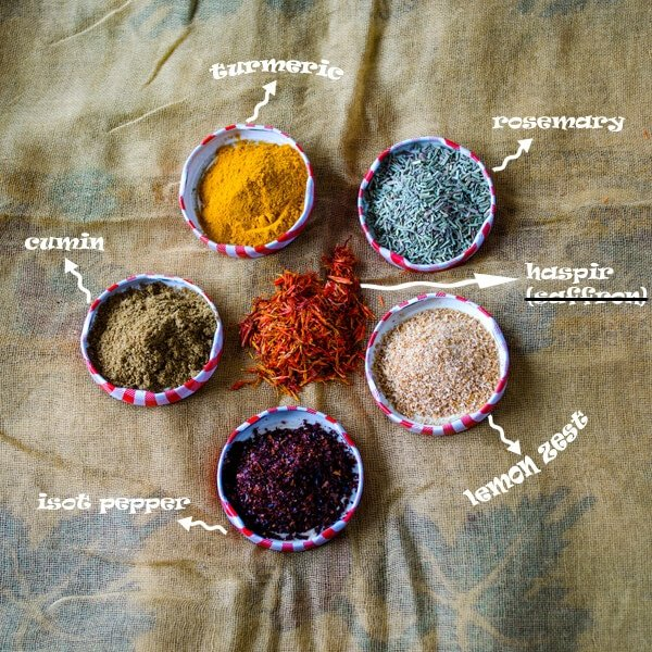 6 Different Spices From Turkey1