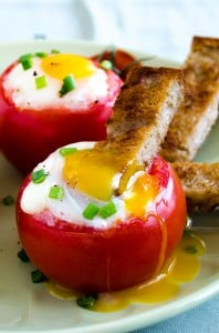 Egg Stuffed Tomatoes 5