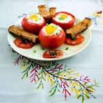Egg Stuffed Tomatoes thumbnail