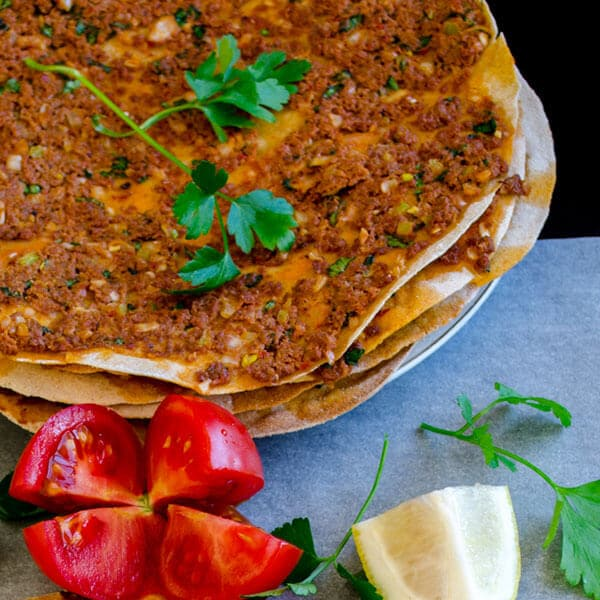 Lahmacun With Whole Wheat Flour