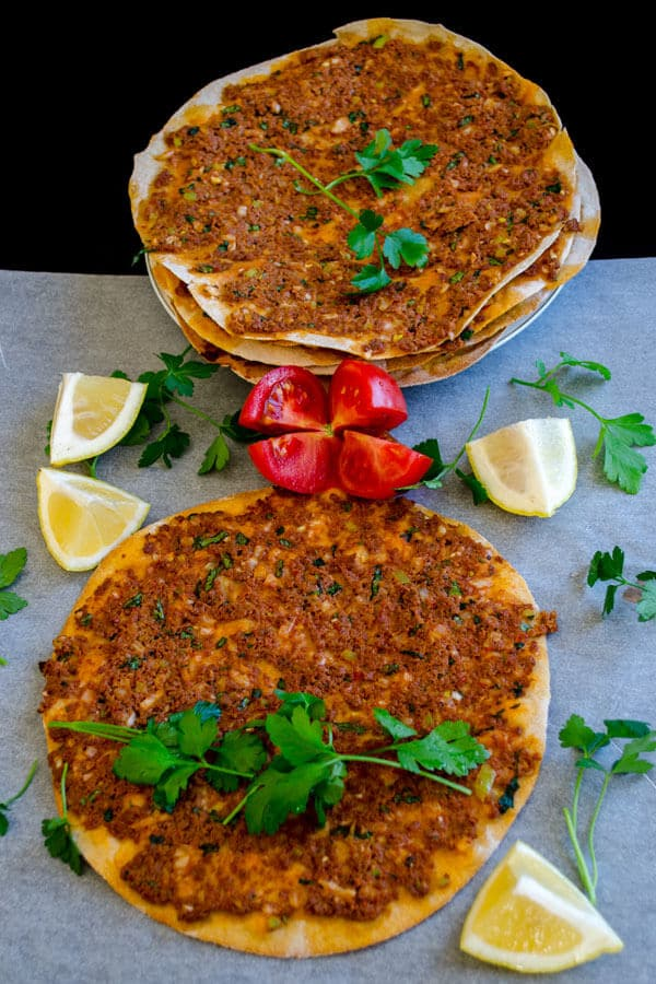 Lahmacun With Whole Wheat Flour1