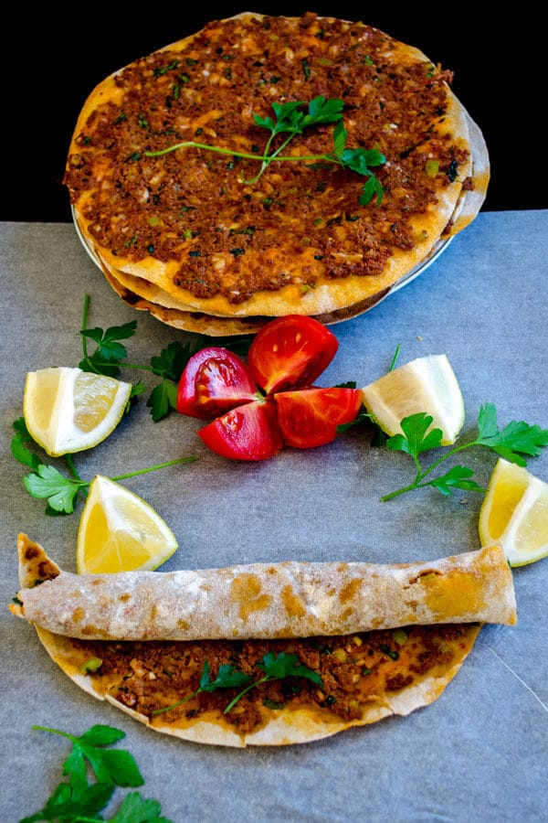 Lahmacun With Whole Wheat Flour2