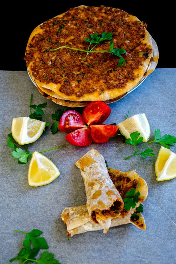 Lahmacun With Whole Wheat Flour3