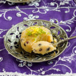 Semolina Halva with Currants
