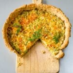 Simple Quiche with Leek