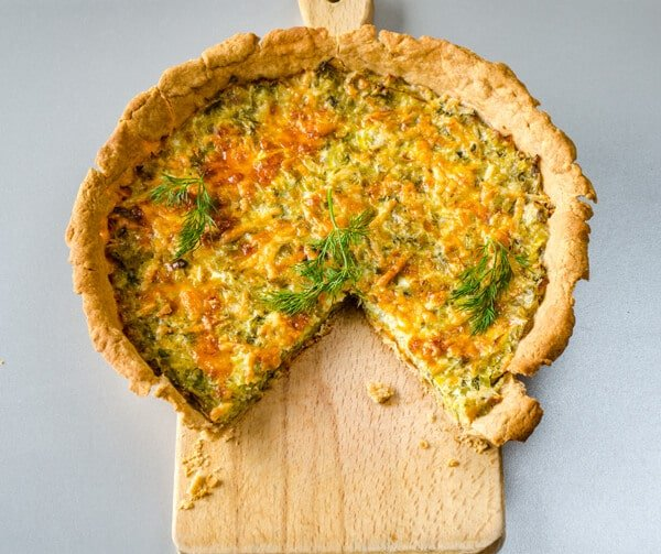 Simple Quiche with Leek1