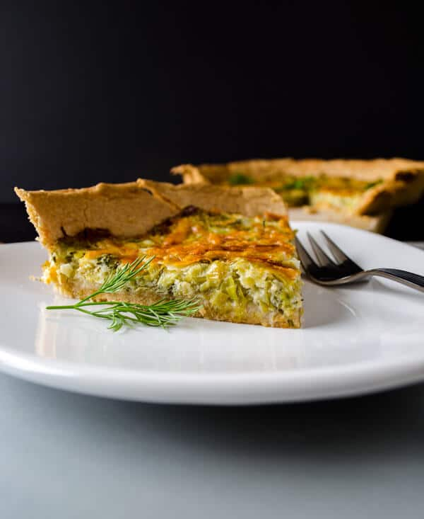 Simple Quiche with Leek2