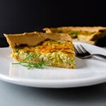 Simple Quiche with Leek thumbnail