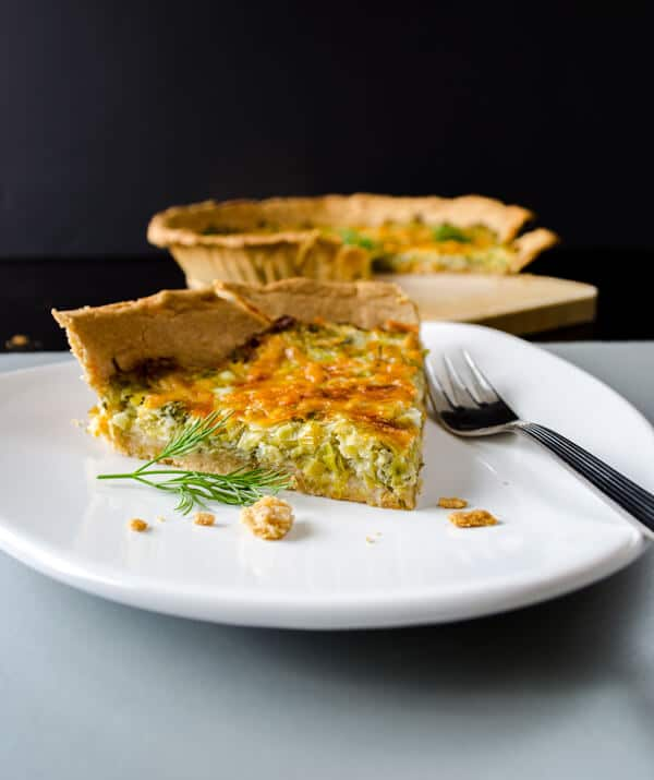 Simple Quiche with Leek4