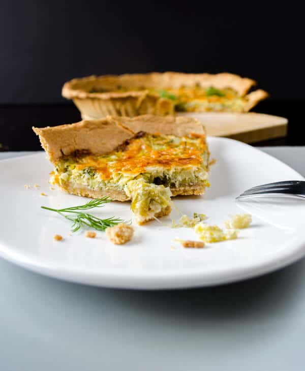 Simple Quiche with Leek5