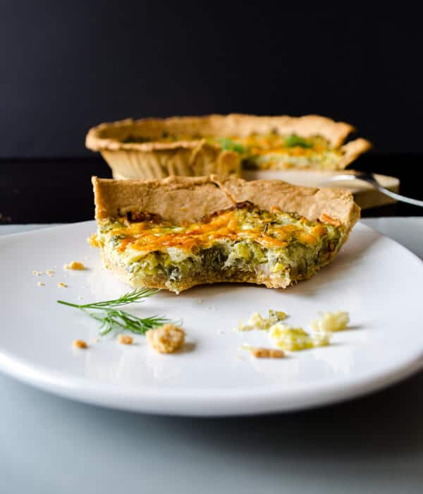 Simple Quiche with Leek6