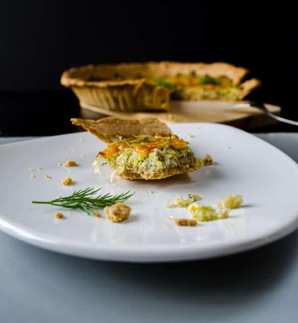 Simple Quiche with Leek7