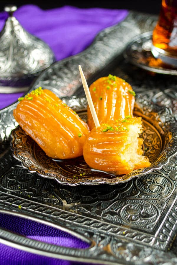 #Turkish #Dessert Tulumba | www.giverecipe.com